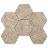Мозаика Tarkin  TA02 Rusty-Beige Hexagon 25x28.5 непол.(10 мм)
