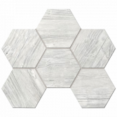 Мозаика Tarkin  TA00 Light Grey Hexagon 25x28.5 непол.(10 мм)